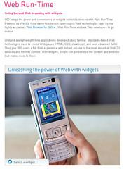 Widgets & Nokia