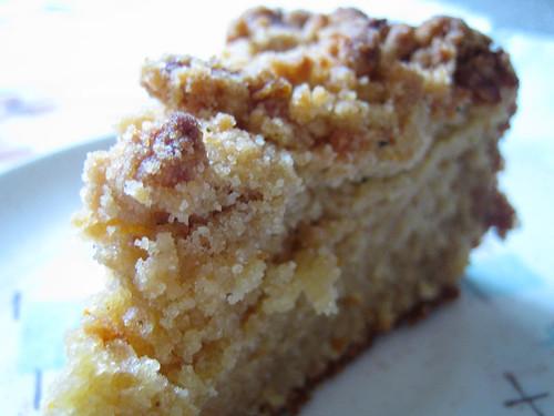 Moist crumb cake recipe