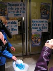 Tortosa: Concentració de la PDE davant de la Delegació del Govern