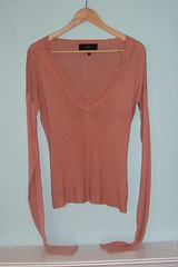 et vous Women's V-Neck Size M $40 (From My Home To Yours) Tags: from paris sexy look for is long different very body silk fabric cashmere et which extra blend sheer gathered sleeves vous lightweight