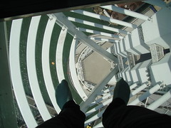 Walking on air (oli35) Tags: england tower view sony air cybershot portsmouth spinnakertower pompey glassfloor