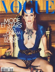 Vogue Paris Mai 2008 (Ze Cali Fairy) Tags: fashion magazine vogue cover mariotestino juliannemoore frenchvogue vogueparis carineroitfeld tompcheux