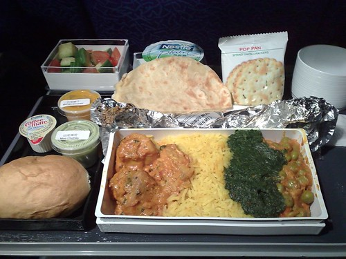 Hindu Meal on SQ Economy Class