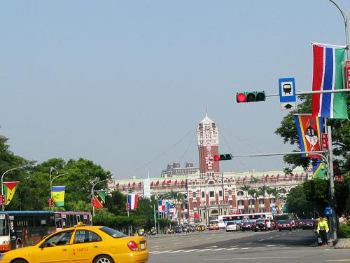 520 馬英九讓任台灣總統/特首/地區領導人當天早上的總統府