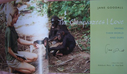 Jane Goodall Autograph 1