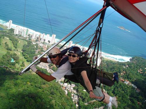 Hang Gliding Janis