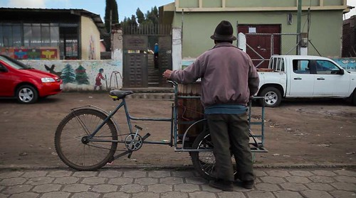 Video Still: Gregorio sells his ice cream in town for 15 cents.