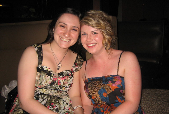 vanessa & me at carla's bachelorette party