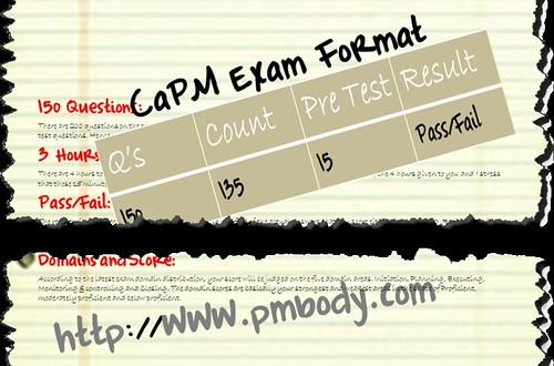 CaPM Exam Format