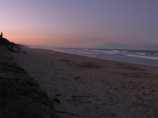Coolum Beach at Dusk