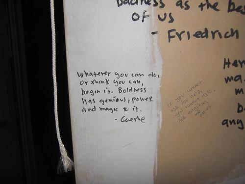 Wall Goethe