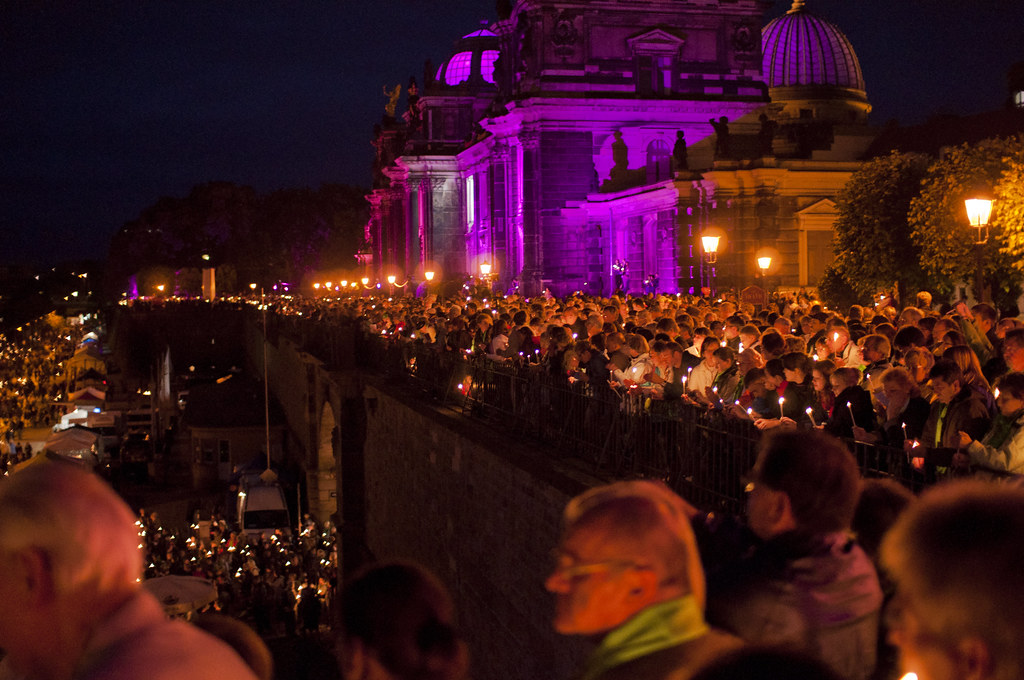 Lichtermeer Dresden