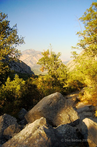 On the way to Termessos, Turkey