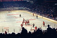 Hockey c.1972 (Mr. History) Tags: ice philadelphia hockey detroit olympia flyers redwings detroitredwings philadelphiaflyers mickeyredmond bobbyclarke marceldionne olympiaarena
