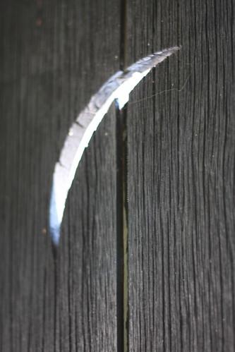 Crescent in Shutter