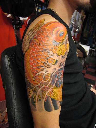 Koi fish tattoos. Japanese Koifish gallery