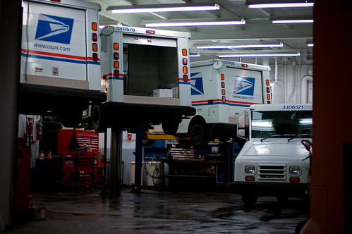 USPS Trucks Being Fixed