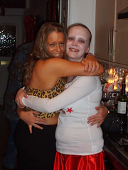Jaice & Jade (petercrosbyuk) Tags: party halloween janice jade 2007