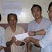 林尚豪Lim Seong Hoe's pitty parents & the donation party BY michael chan and Pastor Peter Lee