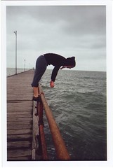 no diving permitted. (find_shirlz) Tags: pier fishing melbourne colorsplash mez mordialloc lomofever ifeelseasick
