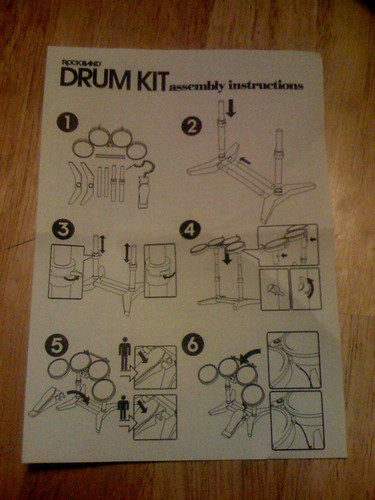 Rock Band instructions