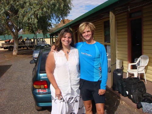 Me and Lena in Alice Springs
