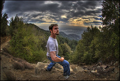 Gary On Top of the World (Nick  Carlson) Tags: sky clouds photography losangeles carlson nick hdr highdynamicrange hdri mountwilson tonemapped nickcarlson truelifeimages nickcarlsonphotography