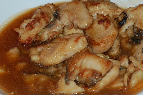 fish fillet with soya bean paste