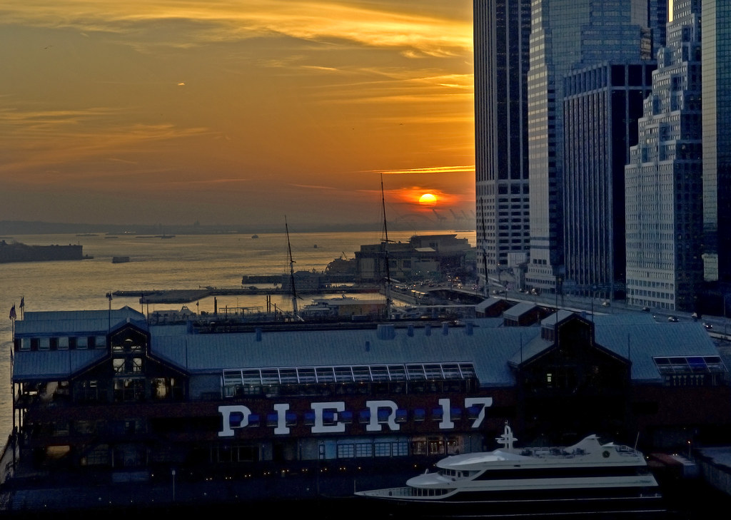 Pier 17 NYC