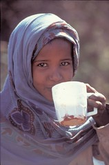 child in Somalia