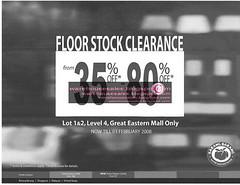1201 floor stock clearance malaysia