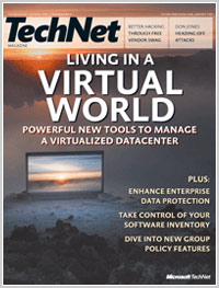 TechNet Magazine January 2008