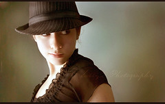 Going Vintage (ally) Tags: portrait black girl smile hat self vintage interestingness clothes explore teenager fedora smirk striped outstandingshots ideasplayground flicksbest portraitaward hallofexcellence artofthelight llovemypic thatsagroupbtw99 hqselection