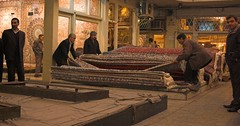 Bazar-e Farsh, Tehran (Fabien Dany) Tags: voyage travel tourism carpet iran middleeast iranian dailylife tehran bazar farsh fabiendany