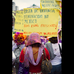 women solidarity ( Tatiana Cardeal) Tags: brazil people brasil digital photo women saopaulo sopaulo protest picture documentary violence tatianacardeal humanrights 2008 gender mobilization brsil worldsocialforum inequality documentaire documentario forosocialmundial globaldayofaction  frumsocialmundial marchamundialdasmulheres   globalcallforaction  wereldsociaalforum    brasileconomico wduke