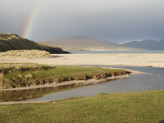Rainbow over Taransay