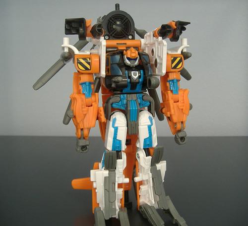 Evac bot mode