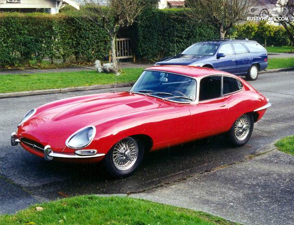 1966 Jaguar XKE Coupe