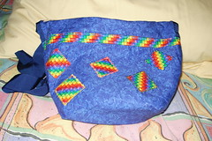 bag from addicted2knitting