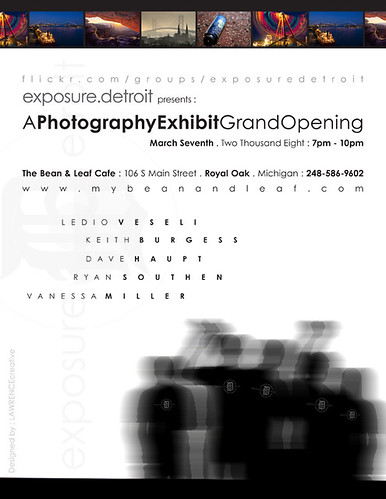 Exposure.Detroit March 7th Exhibit