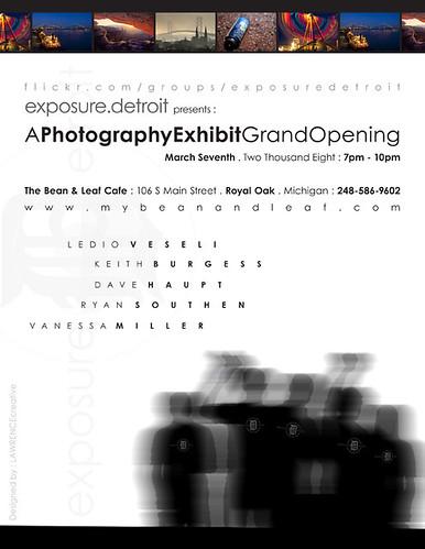 Exposure.Detroit March 7th Exhibit