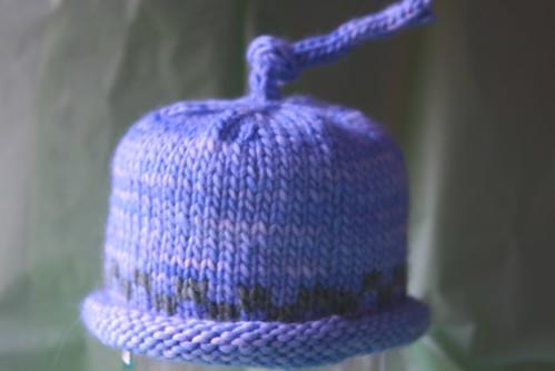 Umbilical cord baby hat