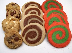 christmas cookies (nikkicookiebaker) Tags: decorated