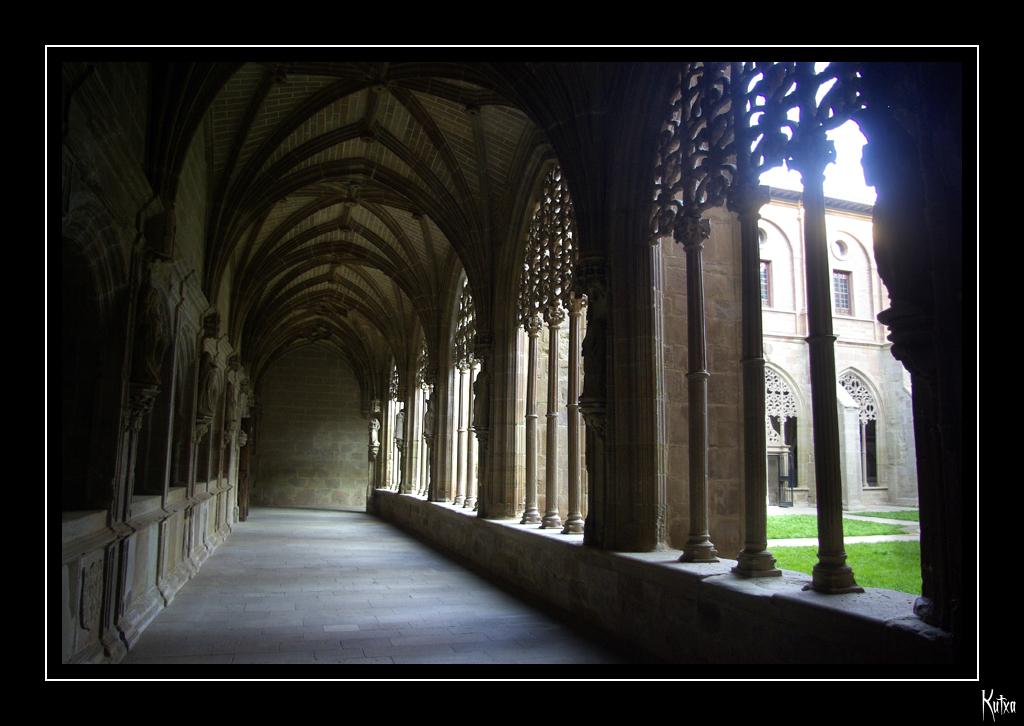 Photo de Rioja n°10. Cloître de Santa Maria la Real à Najera