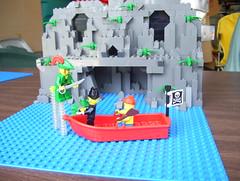 Peter Pan (mhuffman) Tags: lego peterpan disney aligator tink cave hook smee ticktock