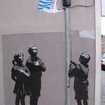 Banksy's statement.