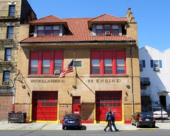 E082 FDNY Firehouse Engine 82 & Ladder 31, West Farms, South Bronx, New York City (jag9889) Tags: county city nyc ny newyork building tower station architecture design bronx south engine style firetruck company borough ladder hook firehouse 2008 31 fdny department 82 bravest thebighouse lacasagrande morrisania westfarms engine82 e082 ebaysold ladder31 y2008 thebronxbloggers jag9889