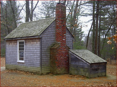 Thoreau House Replica -- Walden Pond, Concord (MA) by Ron Cogswell