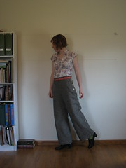 1930s inspired trousers