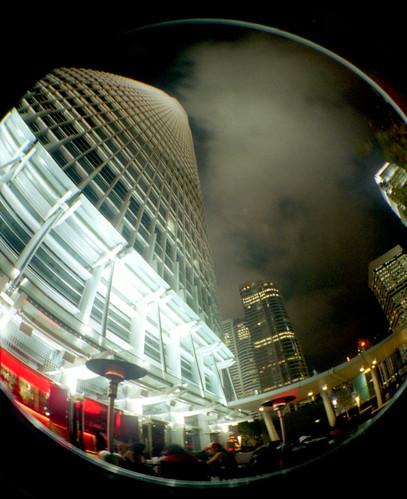 Hong Kong_Red Café_Fisheye